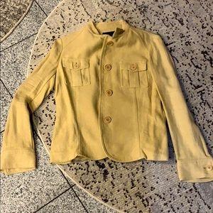 Zara linen button down blazer, size 10
